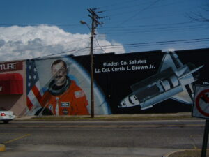 Curtis Brown Mural
